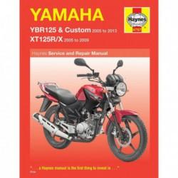 Haynes Yamaha YBR125 (2005-16) et XT125R, XT125X (2005-09)