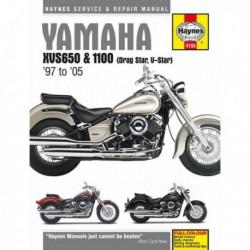 Haynes Yamaha XVS650 et XVS1100 Drag Star, V-Star (1997-11)