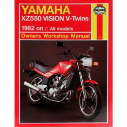 Haynes Yamaha XZ550 Vision V-Twins (1982-85)