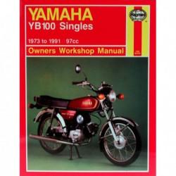 Haynes Yamaha YB100 Singles (1973-91)