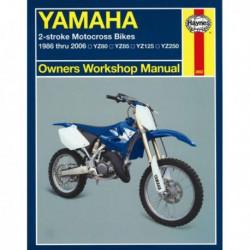 Haynes Yamaha YZ80, YZ85, YZ125, YZ250 Motocross (1986-06)