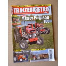 Tracteur Rétro n°38, Massey-Ferguson 168, Putigny SPEP, Allis, batteuse Chauvin