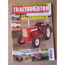 Tracteur Rétro n°37, McCormick 523, Someca Som 25D, MB-Trac 1000 Deutz Intrac, Guille Steyr