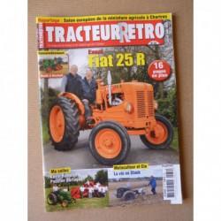 Tracteur Rétro n°39, Fiat 25RD, Renault 304E, Staub, Hamelin