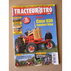 Tracteur Rétro n°42, Case 930 Comfort King, Lemonnier, Coualan, Coustet SFV