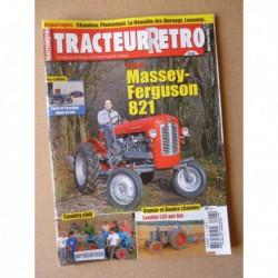 Tracteur Rétro n°43, Massey-Ferguson 821, Landini L35, Arnaudet