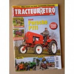 Tracteur Rétro n°44, Porsche P111, Millot M4, Pécard, Dousset-Matelin, Le Rat, Someca