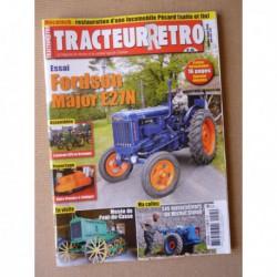 Tracteur Rétro n°45, Fordson Major E27N, Pécard, Pont-du-Casse, Michel Simon motoculteurs