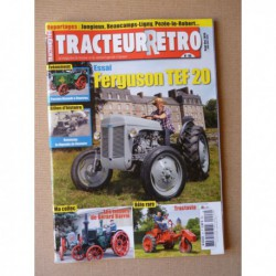 Tracteur Rétro n°46, Ferguson TEF 20, Tractavia, Hanomag, Gérard Barrié