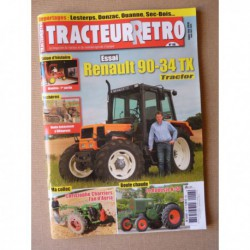 Tracteur Rétro n°48, Renault 90-34TX Tracfor, HSCS Le Robuste K50, Manitou, Charriers Agria