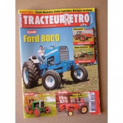 Tracteur Rétro n°49, Ford 8000, Micromax type GF8, Hanomag, Kuhn Porsche