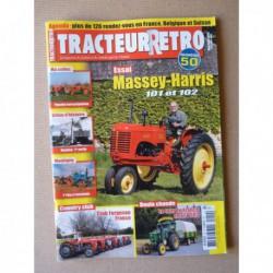 Tracteur Rétro n°50, Massey-Harris 101 102, Versatile D100 G100, Club Ferguson France, Manitou, Guyon