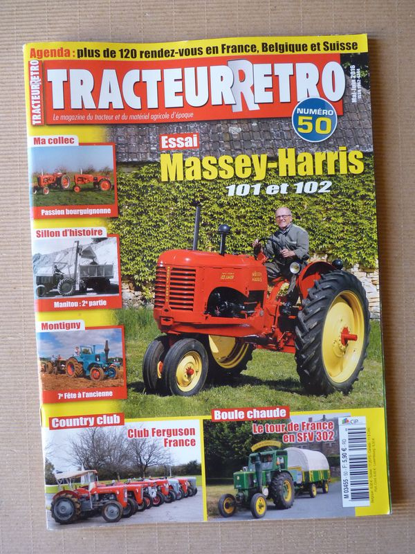 tracteur r tro n 50 massey harris 101 102 versatile d100 g100 club ferguson f ebay. Black Bedroom Furniture Sets. Home Design Ideas