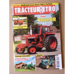 Tracteur Rétro n°52, Volvo-BM T650, Agrip ARD60, Musée de Salviac, François Da Costa