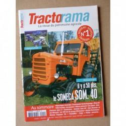 Tractorama n°1, Allis Chalmers G, Someca SOM 40, Monnoyeur, Plan Marshall, Gabriel Bouillon, Fouga