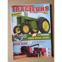 Tracteurs passion n°1, John Deere R, locotracteurs, IH Axial Flow, Musée Cazals-Montcléra