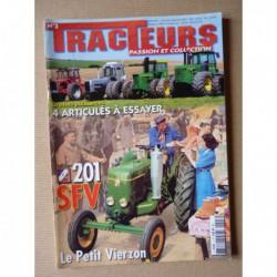Tracteurs passion n°3, SFV 201, 60ans Steyr, tourbe, MF 1200, White Boss, John Deere 7020 8430