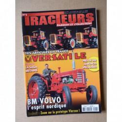 Tracteurs passion n°5, SFV 22/38cv, BM Volvo, Versatile