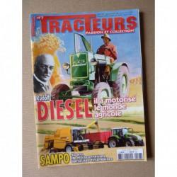 Tracteurs passion n°7, Volvo TP, 50ans MF, Szampo, Fiat AD7, Albert Gougis, Rudolf Diesel