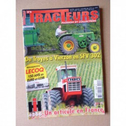 Tracteurs passion n°8, Lecoq, Amazone, IH 4366 Turbo, Marcel Cerceaux, Yves Hubert
