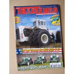 Tracteurs passion n°11, MAN, dossier USA, Big Bud 747, TractoMANie Christian Denis
