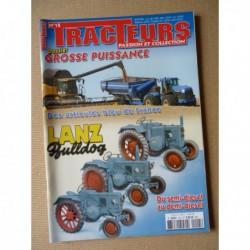 Tracteurs passion n°15, Lanz, Versatile, New Holland T9050, les articulés, 250cv 1910-18