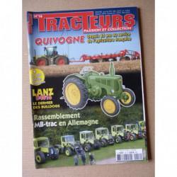 Tracteurs passion n°16, Lanz D4016, De Mesmay, Quivogne, MB-Trac,