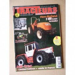 Tracteurs passion n°22, New Holland F480, Le Clerc, Musée Vie Rurale St-Quentin, Massey Ferguson