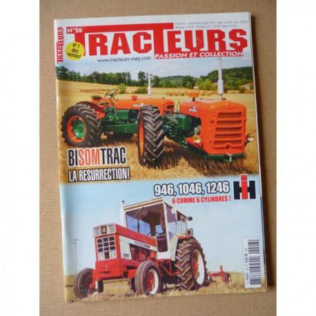 Tracteurs passion n°26, Someca BiSomTrac, IH 946 1046 1246, Pâtissier Energic, les tandem, Ets André Dupont