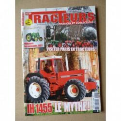 Tracteurs passion n°29, automotrice Rousseau, Fendt Vario, IH 1255 1455, Jean-Hyves Brochard SFV 302, roues en fer