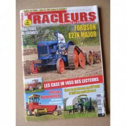 Tracteurs passion n°31, Fordson E27N Major, John-Deere East Moline, Denis Padieu, Case IH 1455, presse automotrice
