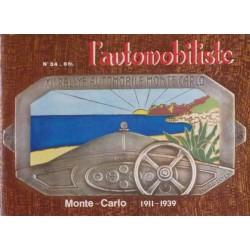 L'Automobiliste n°34, Rallyes de Monte-Carlo de 1911 à 1939