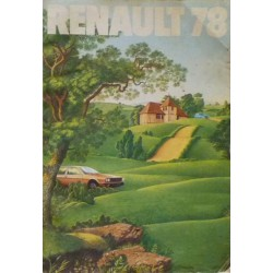 Catalogue Renault 1978