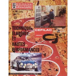 Commerce et Réparation de l'Automobile, Salon 1971