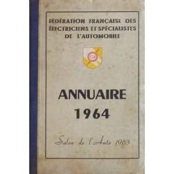 Fédération Française des Électriciens, annuaire 1964
