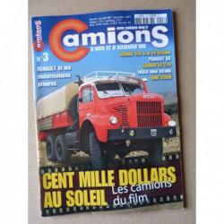 Camions d'hier n°3, Peugeot D3, Scania 140, GMC CCKW, Man-Saviem SG220, Ward-Lafrance, Musée Montrichard