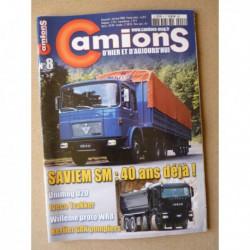 Camions d'hier n°8, Ford Transit, Unimog U20, Saviem SM, Willème WR8, Berliet GAK, électrobus, Volvo 9900, DAF NAT NTT