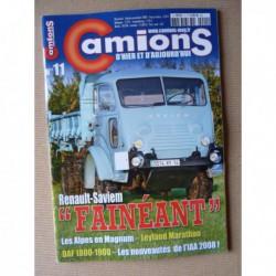 Camions d'hier n°11, Renault Fainéant, Leyland Marathon, DAF 1800 1900, White M3A1, GMC CCKW, Chausson AP48
