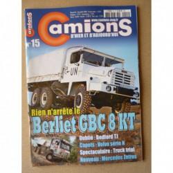 Camions d'hier n°15, Bedford TJ, Volvo N, ERF E, Berliet GBC 8, Arrêt demandé