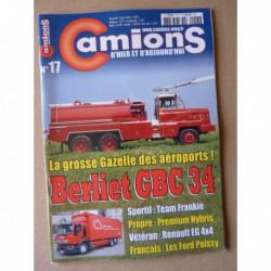 Camions d'hier n°17, Ford Poissy, Berliet GBC34, ERF ECS, ECX, Renault EG, Ligne du Hoggar, Team Frankie