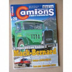 Camions d'hier n°20, Volvo F89, Berliet GRK 10, Dodge WC rail-route, Somua OP5, Duriez, Mack Bernard