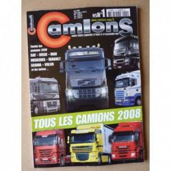 Camions d'hier et d'aujourd'hui HS n°1, Tous les camions 2008