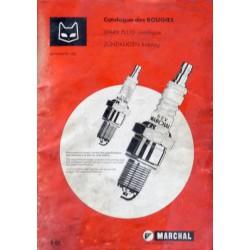 Marchal, catalogue des bougies 1982