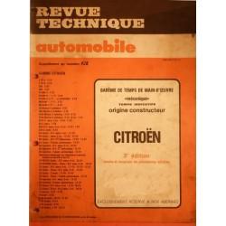 Temps de réparation Citroën années 70 et 80 (3ème édition)