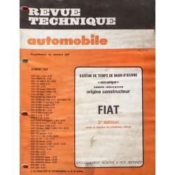 Temps de réparation Fiat années 70 et 80 (3ème édition)