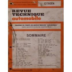 Temps de réparation Citroën années 70 et 80 (5ème édition)