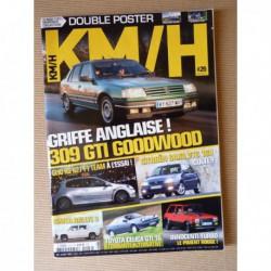 KM/H n°26, Citroën Saxo VTS, Innocenti De Tomaso, Peugeot 309 GTI, Lancia Thema 8.32, Toyota Celica GTI 16, Opel Tigra A