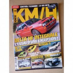 KM/H n°34, Lancia Delta Integrale, Renault 5 LS, Toyota GT86, BMW Z3 M, Renault 19 16S, Alfa Romeo Alfasud TI, AX