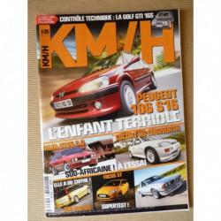 KM/H n°35, Peugeot 106 S16, Alfa Romeo GTV6, 206SW S16, BMW 635 CSI, Ford Focus ST, Escort RS Cosworth