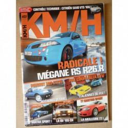 KM/H n°37, Peugeot 309 GTI 16, Honda Prelude 2.2i, Matra Murena S, AlfaSud Sprint 1.5, Audi TT quattro, Renault Megane R26R